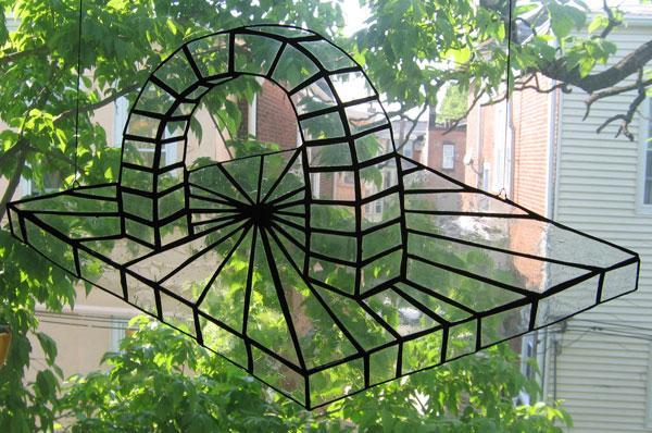 Arch in window