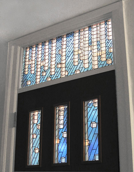picture of Block Transom